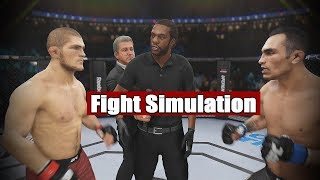 UFC 249 | Khabib Nurmagomedov vs Tony Ferguson | Fight Simulation!!