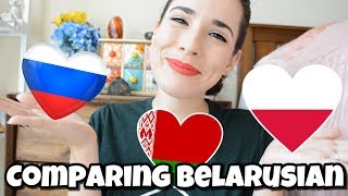 Is Belarusian closer to Russian or Polish?