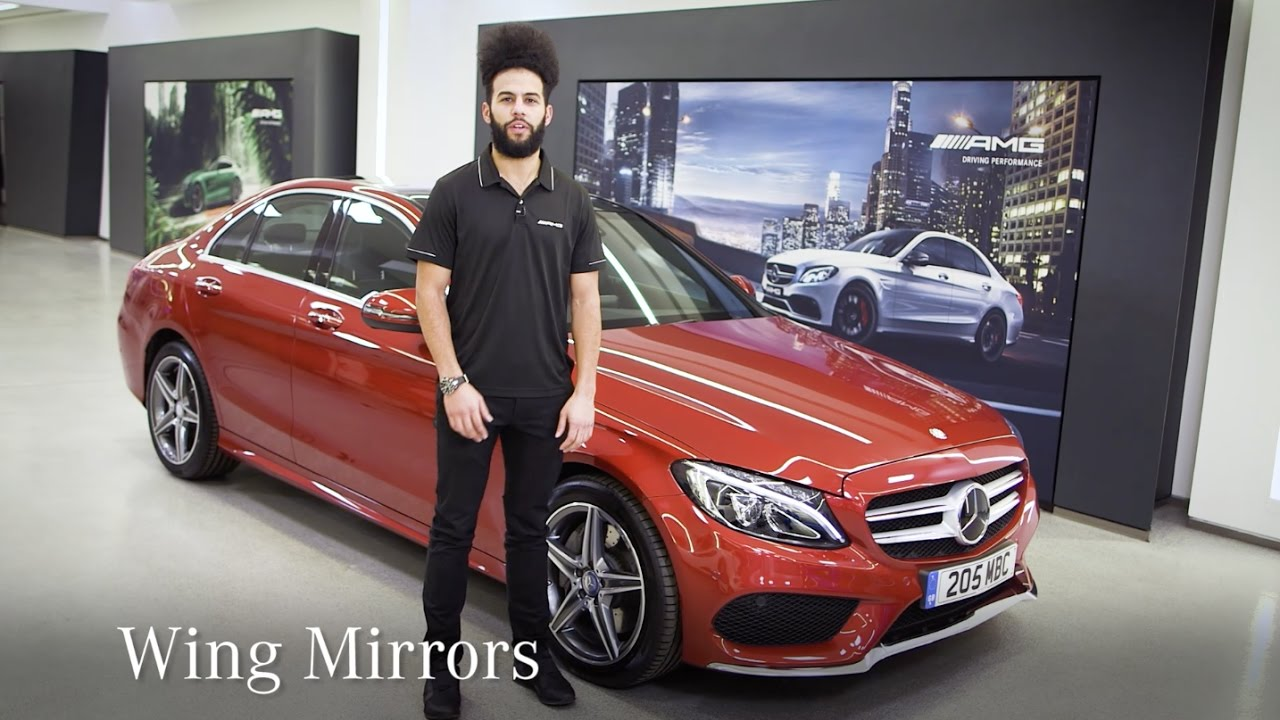 Mercedes-Benz E-Class: Folding the exterior mirrors in or out electrically