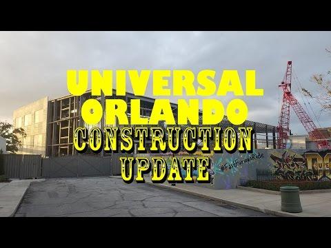 Universal Orlando Resort Construction Update 11.28.16 Fallon, Furious, & Grinchmas!
