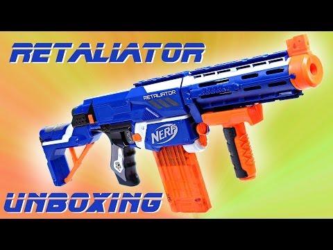 Unboxing Nerf Retaliator [deutsch/german]