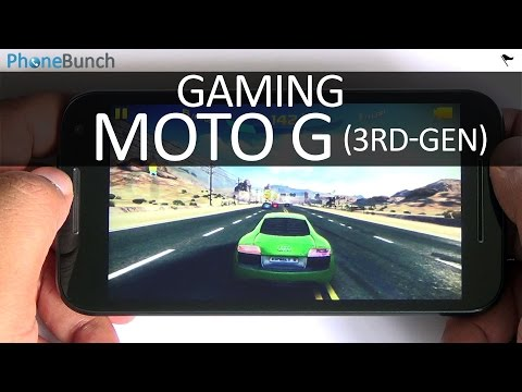 Moto G 3rd Gen (2015) Gaming Review