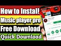 How To  Free Download Music App Pro From Playstore