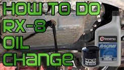 Essex Rotary Quick Vid 29 - How to Change Your RX8 Engine Oil