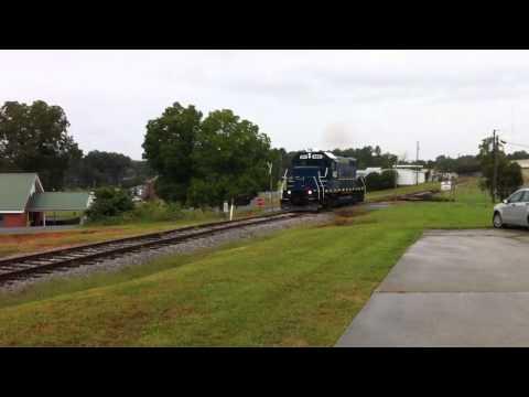 Blue Ridge Scenic Railway at Jasper ,GA.