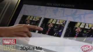 Make Yourself Into a Marvel Character with 3Dplus Me at Comic-Con 2014