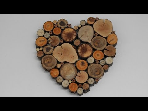 Fairytale heart, wood, branches, DIY