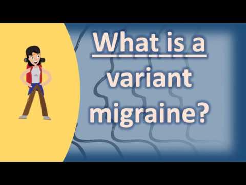 what is atypical migraine variant