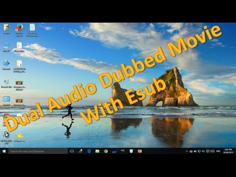 How to Add Hindi / Any Language Audio track in Hollywood / English Movies  with Esubs
