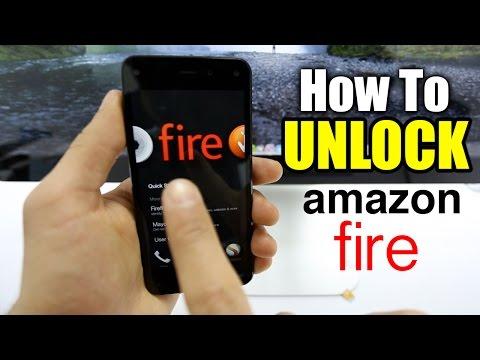 How To Unlock Amazon Fire Phone - Any gsm carrier worldwide / AT&T / Rogers / Etc.