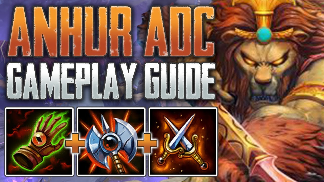 Anhur Adc Gameplay Guide My Favorite Hunter Smite A Z Conquest