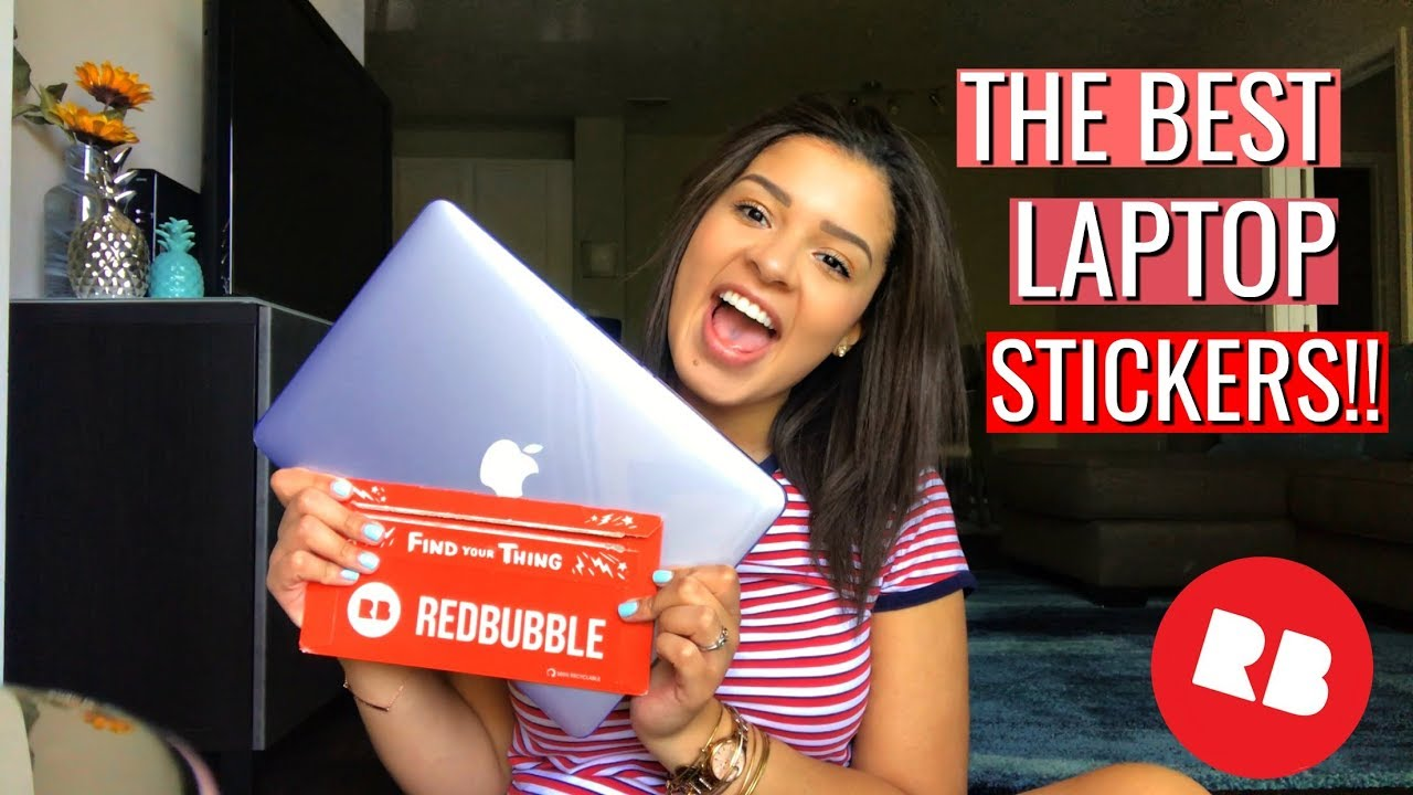 893a54b9 REDBUBBLE LAPTOP STICKERS REVIEW | CHEAPEST LAPTOP STICKERS! - YouTube
