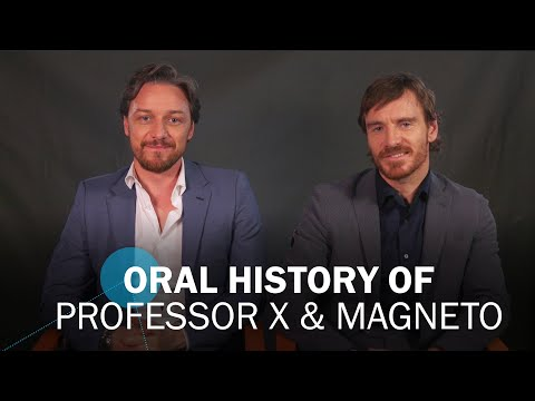 Professor X & Magneto: James McAvoy & Michael Fassbender's Oral History of a Decades-Long Friendship