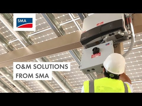 Commercial O&M Solutions from SMA: Advanced Technology, Expertise and Innovation