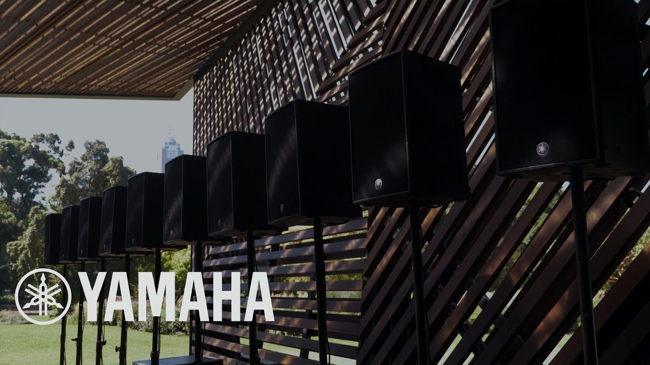 Yamaha Spatial Audio System at MPavilion