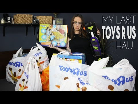 My Last Toys R Us Haul Video | Babies R Us Too |Going Out Of Business Clearance Sale