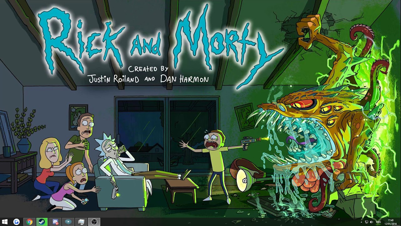 Rick And Morty Wallpaper Youtube