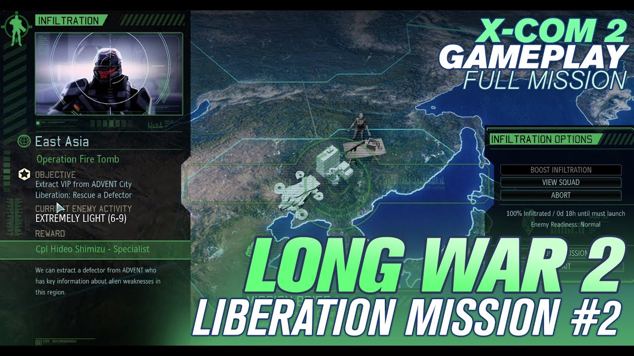 Long War 2: How to Identify Liberation Missions and Liberate a