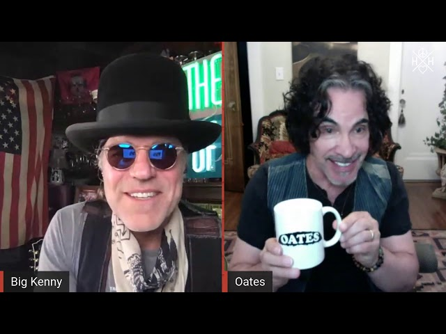 PEACE LOVE & HAPPY HOUR live w Big Kenny & John Oates July 18th 2020