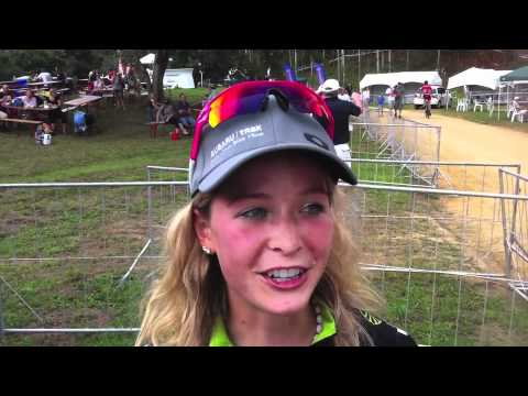 2012 Pietermaritzburg World Cup - Emily Batty Interview