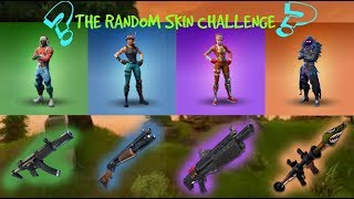 HDW Limitz - RANDOM SKIN CHALLENGE (Fortnite Battle Royale)