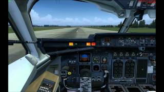 QualityWings Simulations: BAe146 / Avro RJ - A flight to London City