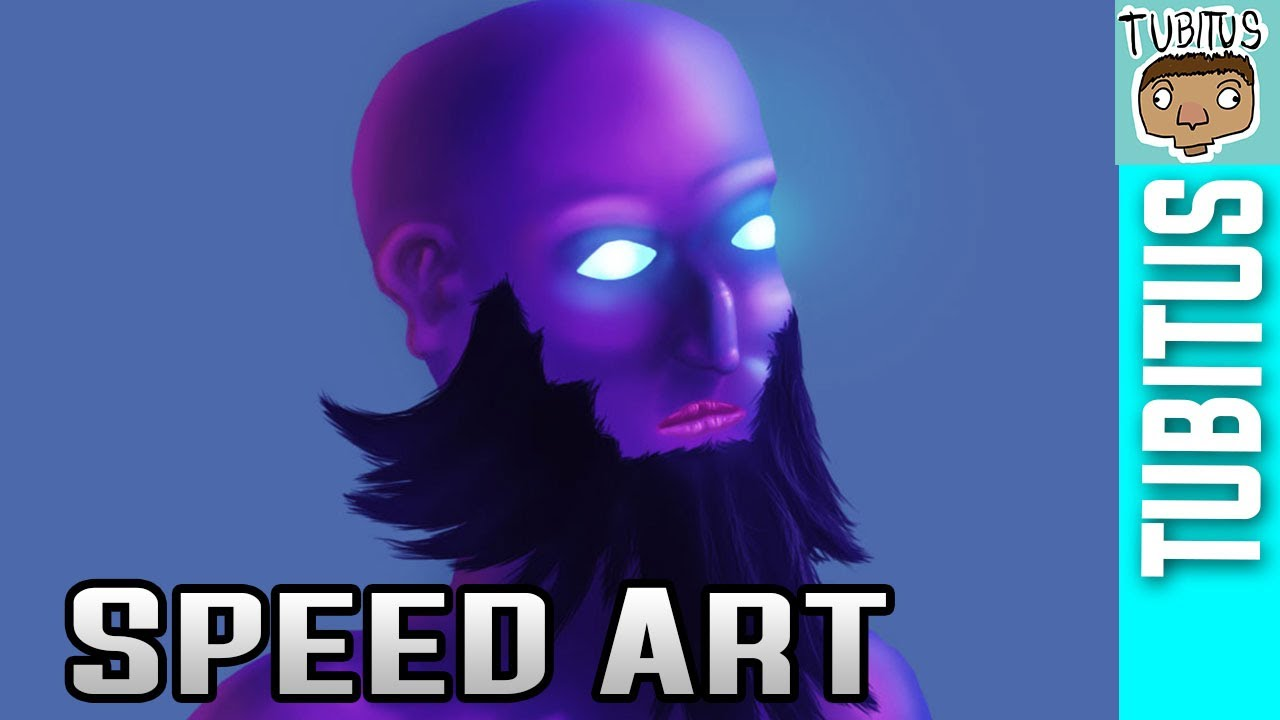 Ryze Speed Painting League Of Legends Art Or Drawing In Adobe Photoshop