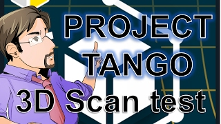AR Eric and Project Tango: 3D Scan test with Matterport Scenes