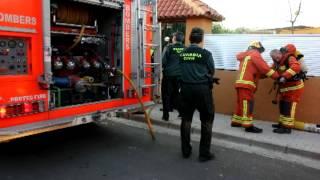 Incendio chalet Riba-roja. Declaraciones del sargento de Paterna, Francisco Javier Tarraga