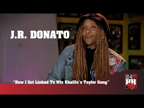 J.R. Donato - How I Got Linked To Wiz Khalifa's Taylor Gang (247HH Exclusive)
