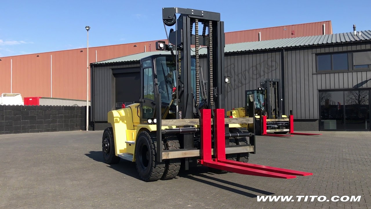 tito com // new 16 ton Hyster forklift for sale