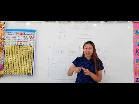 วิชาคณิตศาสตร์ เรื่องจำนวนและค่าประจำหลัก