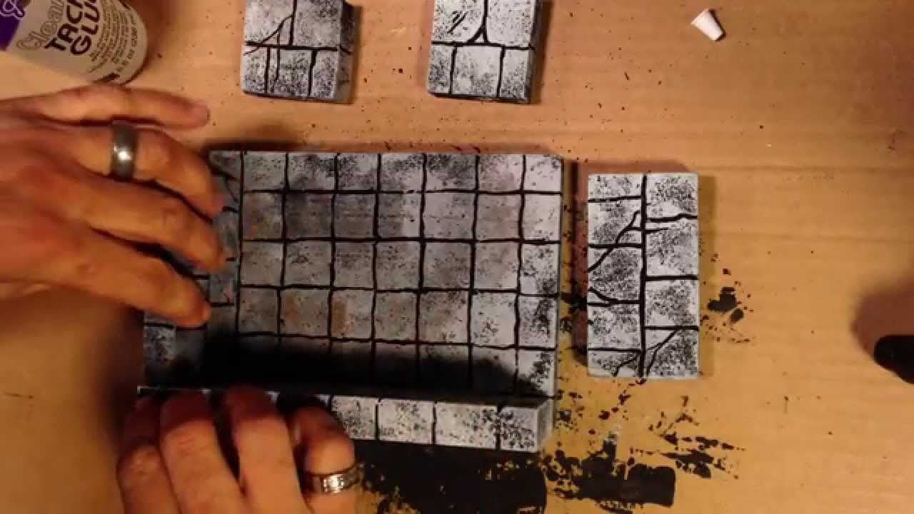 Making Foam Dungeon Rooms Youtube