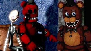 Five Nights At Freddy's 3 Animation   Mario vs Freddy   FNAF Funny Moments