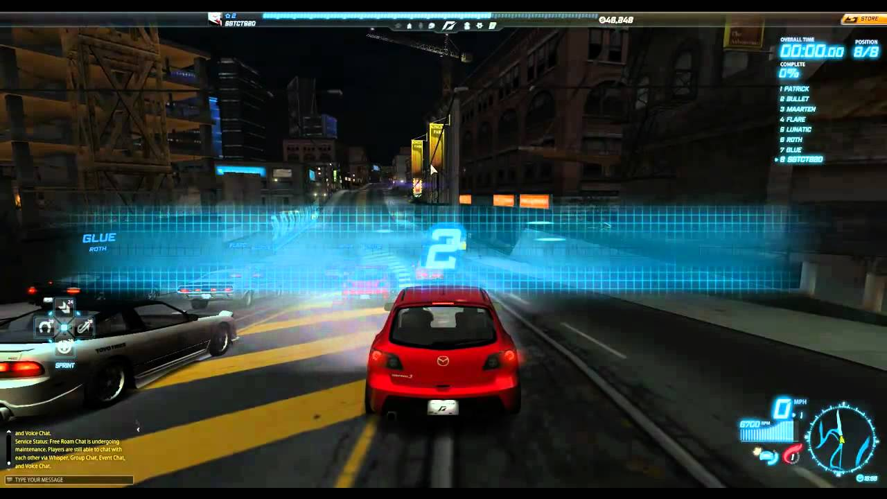 NFS World - Walkthrough Part 1