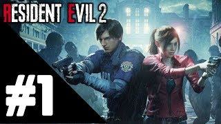 Resident Evil 2 Remake Walkthrough Gameplay Part 1 {Claire Story} – PS4 1080p Full HD No Commentary