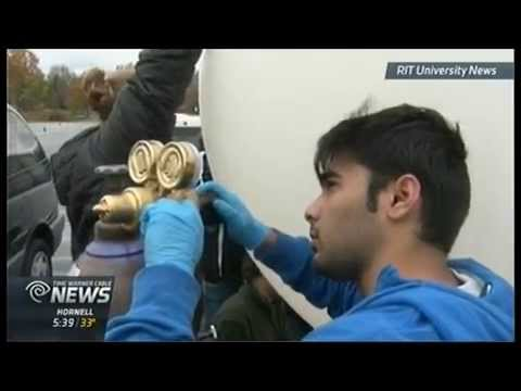 RIT on TV: RIT Space Exploration Group launches high altitude balloon - on TWC