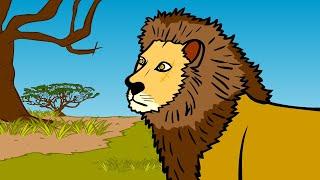사자는 어디로 갔을까 | 생태계의 연결고리 | 먹이사슬 | 동물박사★지니키즈