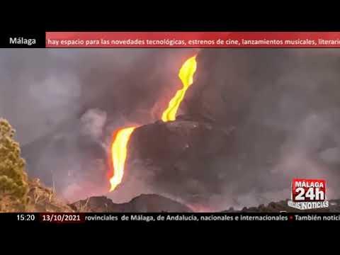 🔴Noticia - Aumenta el poder de destrucción del volcán de La Palma