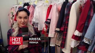 HOT NEWS: Певица KRISTA провела EuropaPlusTV за кулисы показа моды