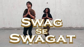 Swag Se Swagat | The Crew Dance Company Choreography | Tiger Zinda Hai | Salman Khan | Katrina Kaif