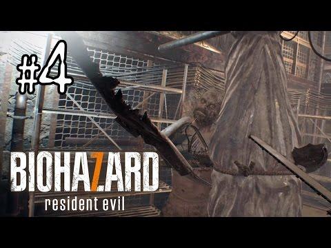 Biohazard 7 #4 地下解剖室Boss戰  (生化危機 7 中文版)