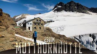Mutthornhütte 2901m (from Selden to Stechelberg)