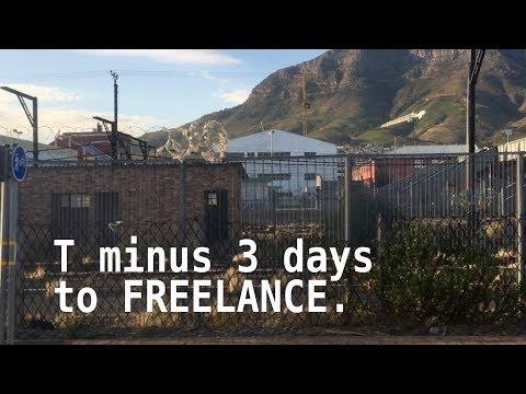T minus 3 days to Freelance - Daily Vlog #042 [2018]
