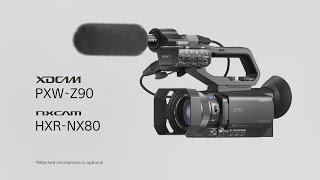 Sony | How to set up the Z90 & NX80 Pro Camcorders for Simple Live Streaming