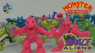 Monster in my pocket - Series 7 - Space Aliens - Toy Review | Odd Pod