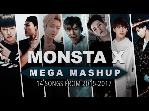 MONSTA X: 2 YEAR MEGA-MASHUP [ 14 Songs From 2015-2017 ]
