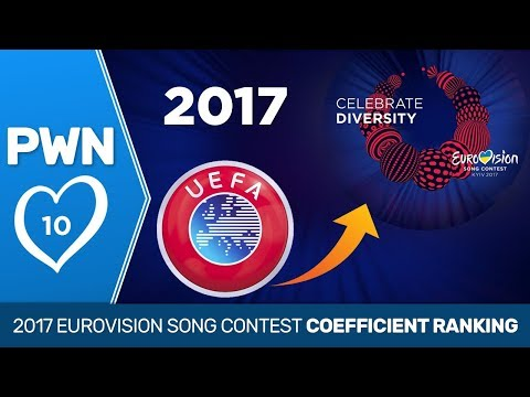 PWN #10: 2017 Eurovision Song Contest coefficient ranking