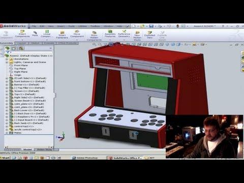 How to Create Custom Arcade Cabinet Artwork Using Photoshop