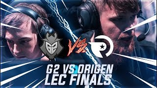 G2 vs OG LEC Finals - The Shortest MASSACRE of EU History  [VOD Review]